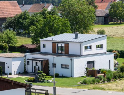 Neubau Wohnhaus und Garage in Pirkach