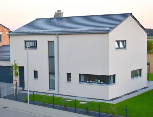 Neubau Wohnhaus und Garage in Seubersdorf