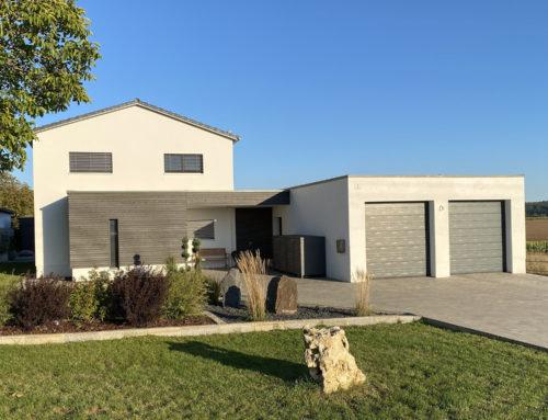 Neubau Einfamilienwohnhaus mit Garage in Freihausen