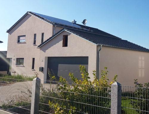 Neubau Einfamilienwohnhaus mit Garage in Wissing